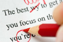 Editing and Proofreading Service